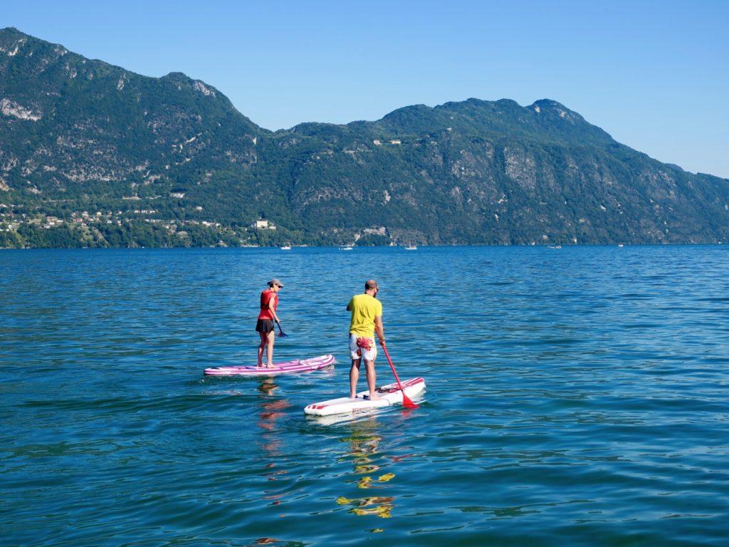Paddle sur le Lac du Bourget