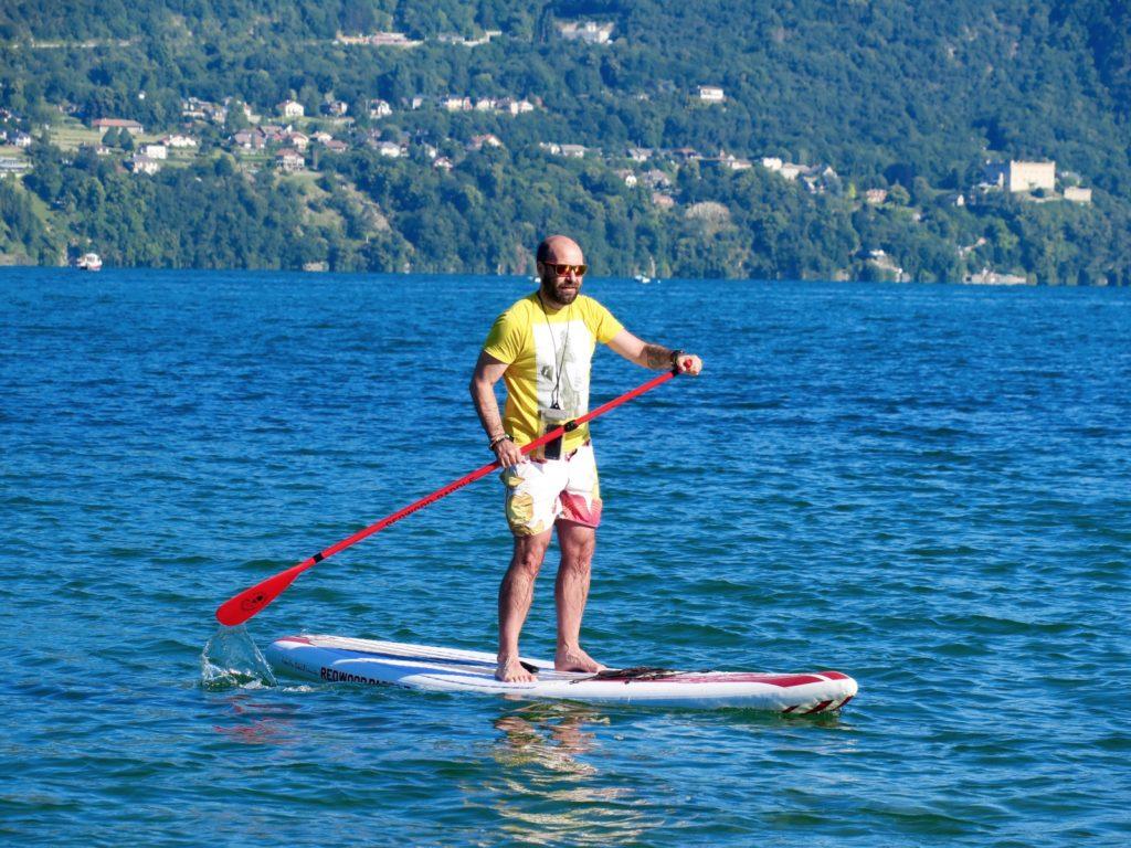 paddle lac du Bourget