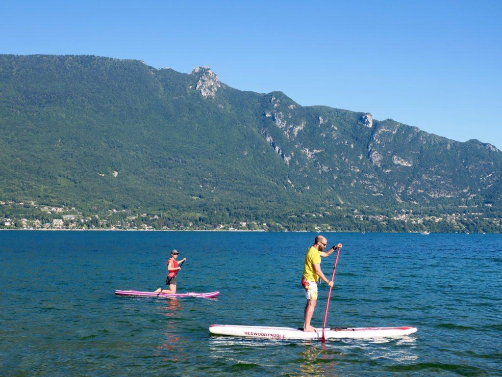 faire du paddle
