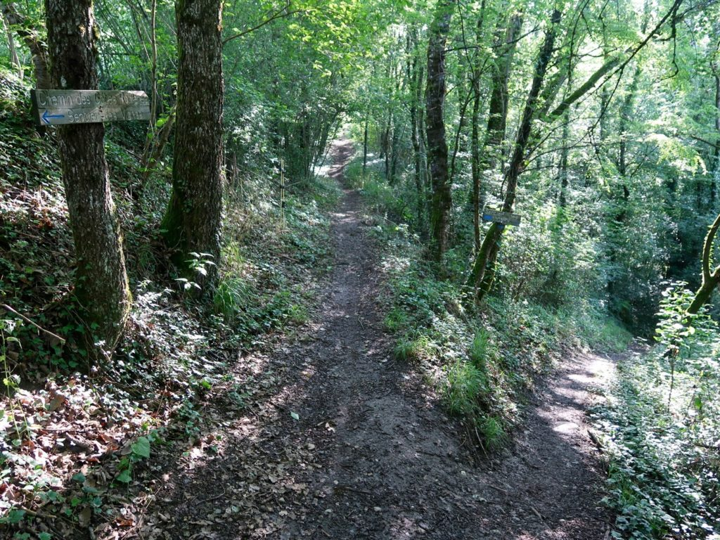 chemin accès passerelle