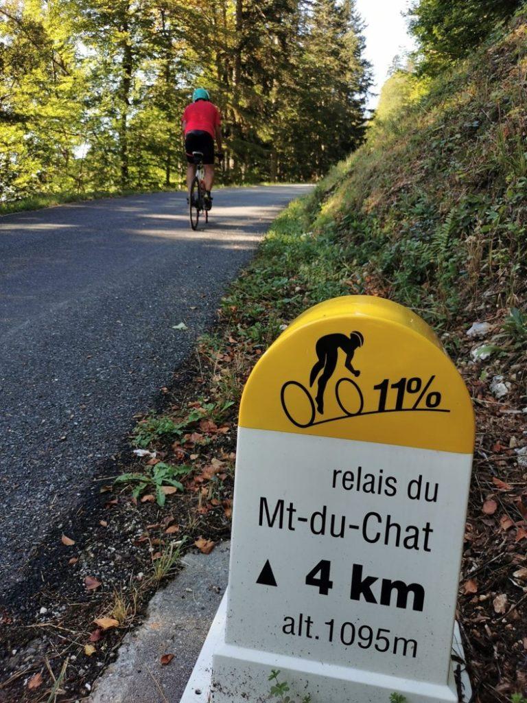ascension du relais du Mont du Chat