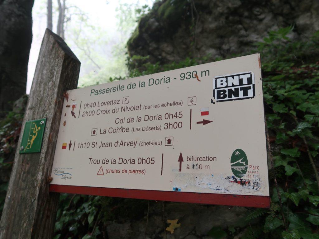 Cascade de la Doria haute