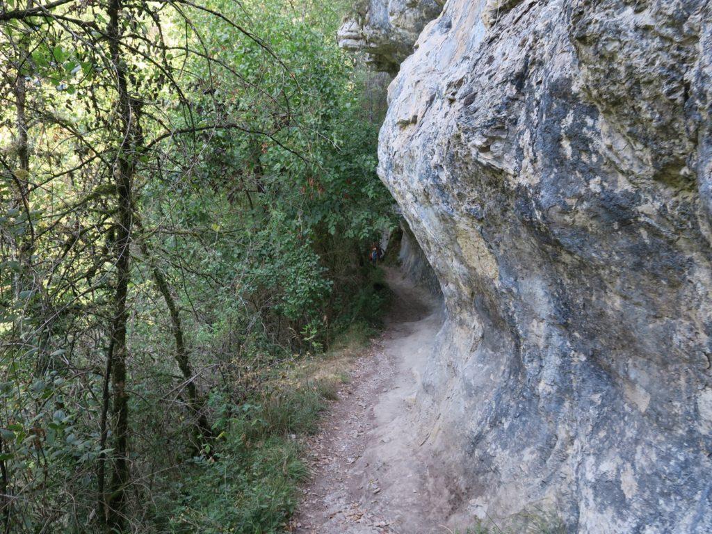 sentier d'accès