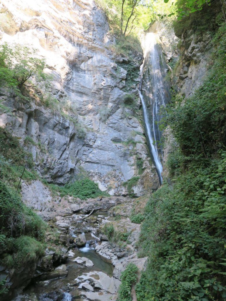 Cascade de la Doria basse