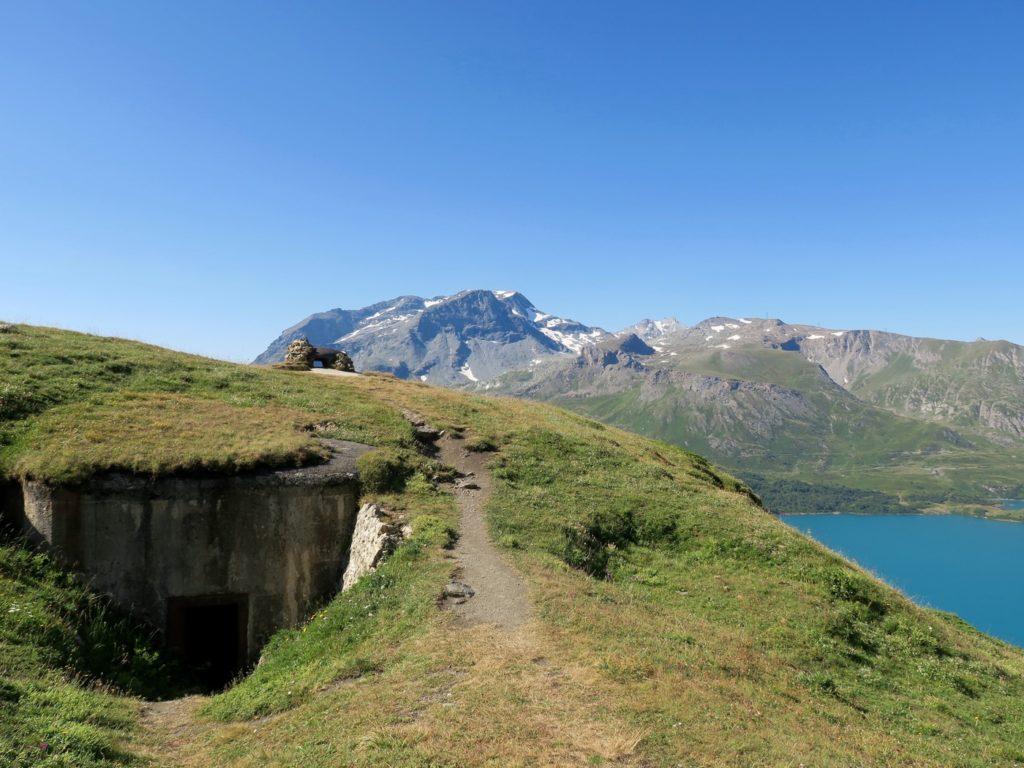 Montée vers le Fort de Ronce