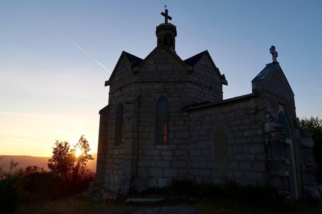 bivouac au Mont St Michel