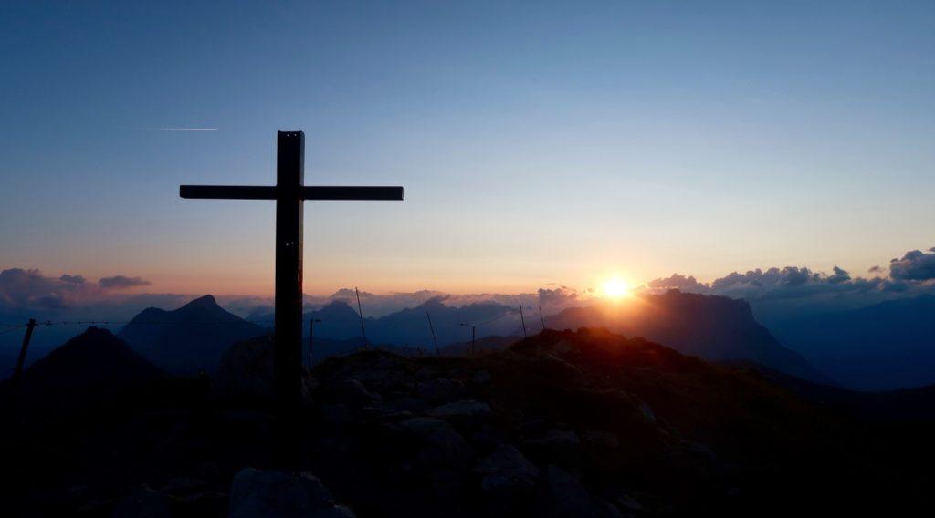lever de soleil à la Galoppaz