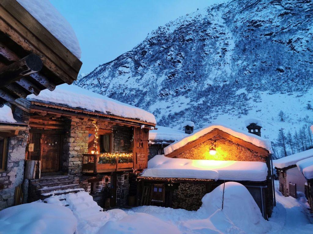 Bonneval en hiver