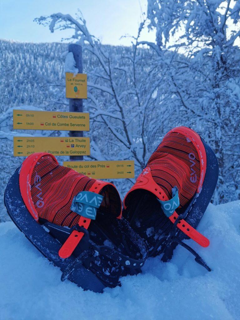 Raquettes EVVO Snowshoes