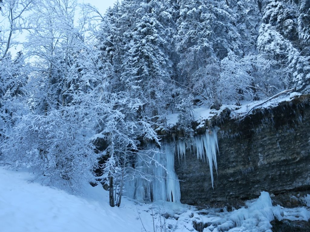 sentier des cascades