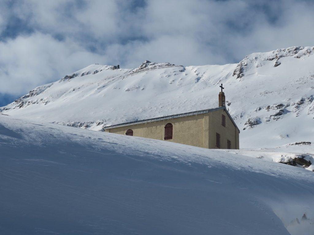 chapelle avant le col du Mont Cenis