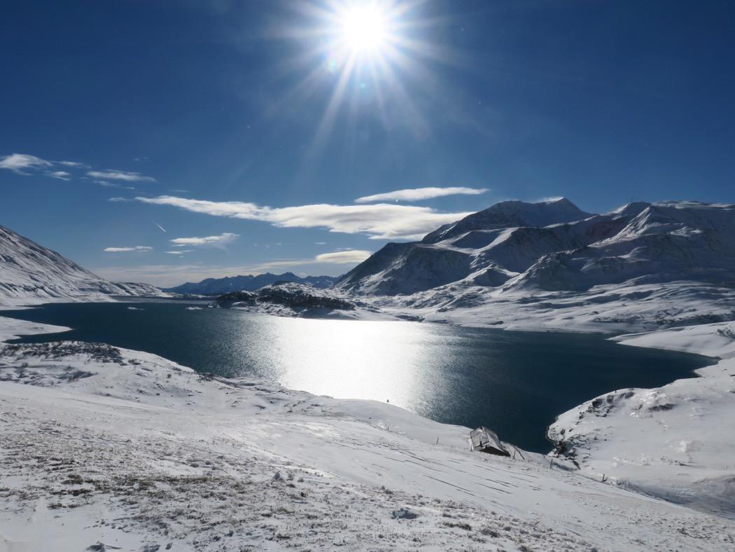 Lac du Mont Cenis par l'Escargot