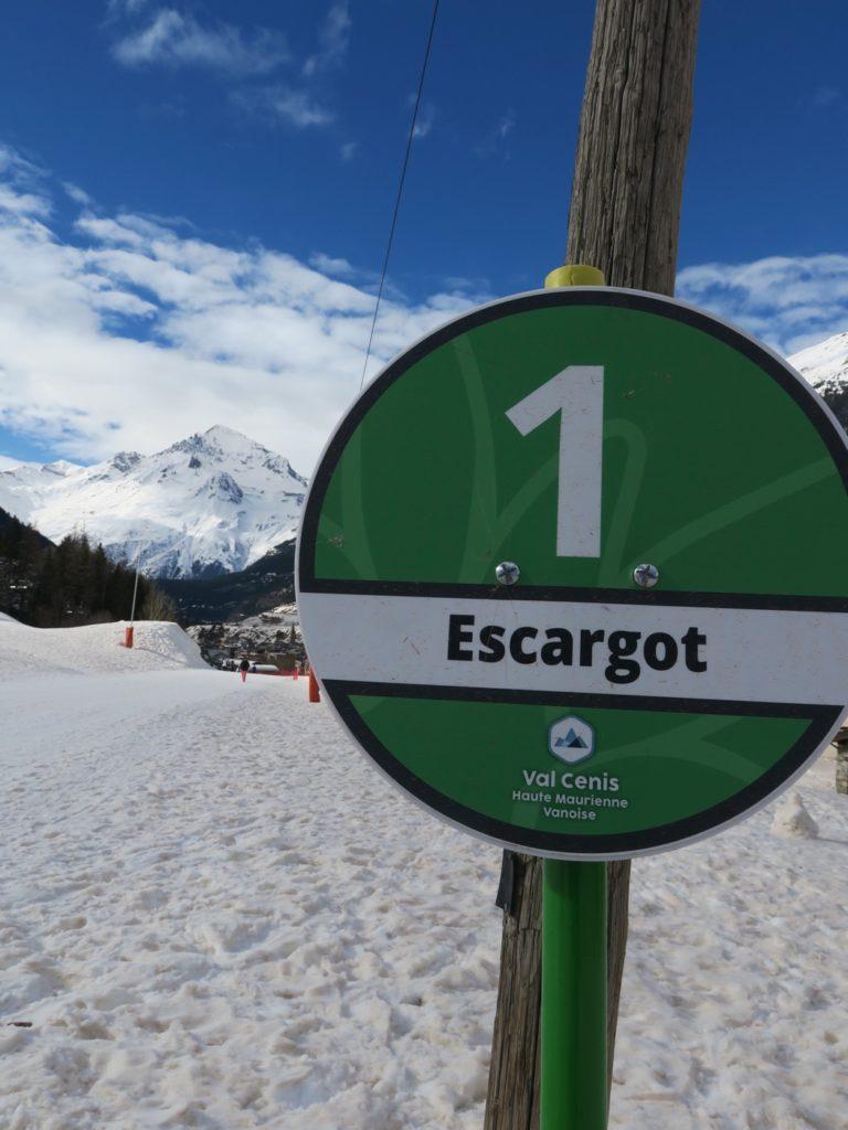 piste de l'Escargot