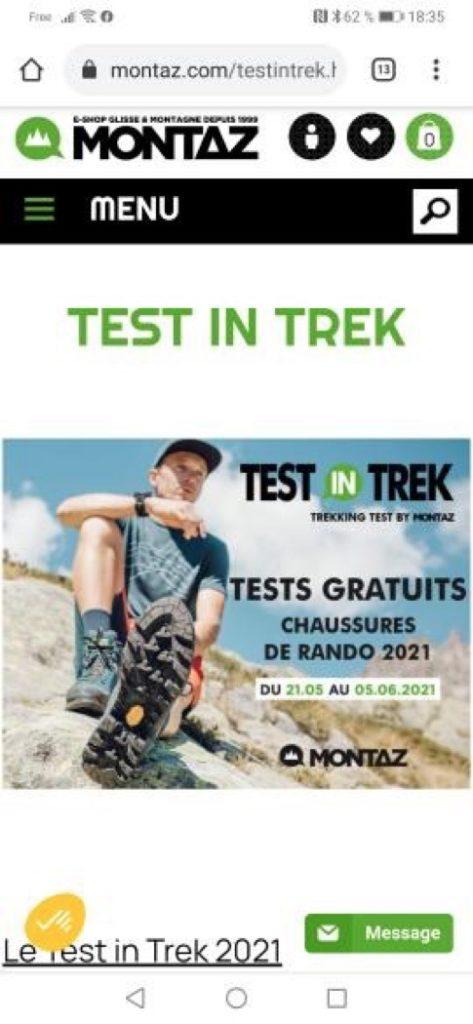 opération Test in Trek