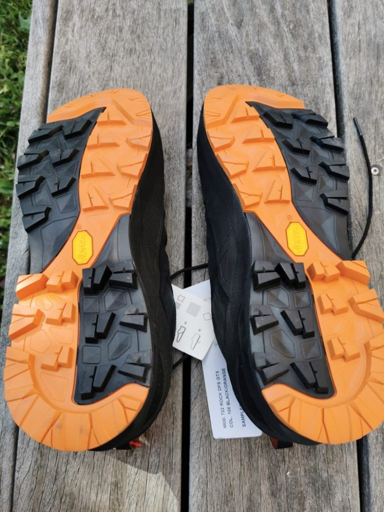 crantage chaussures
