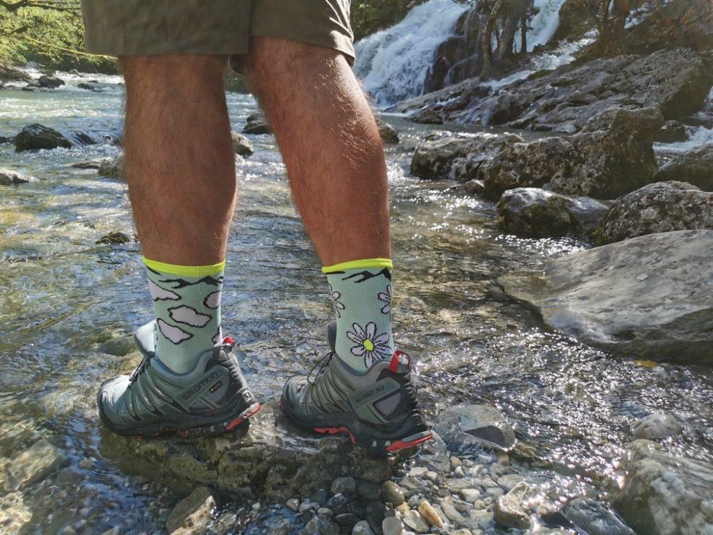 chaussettes pour randonner