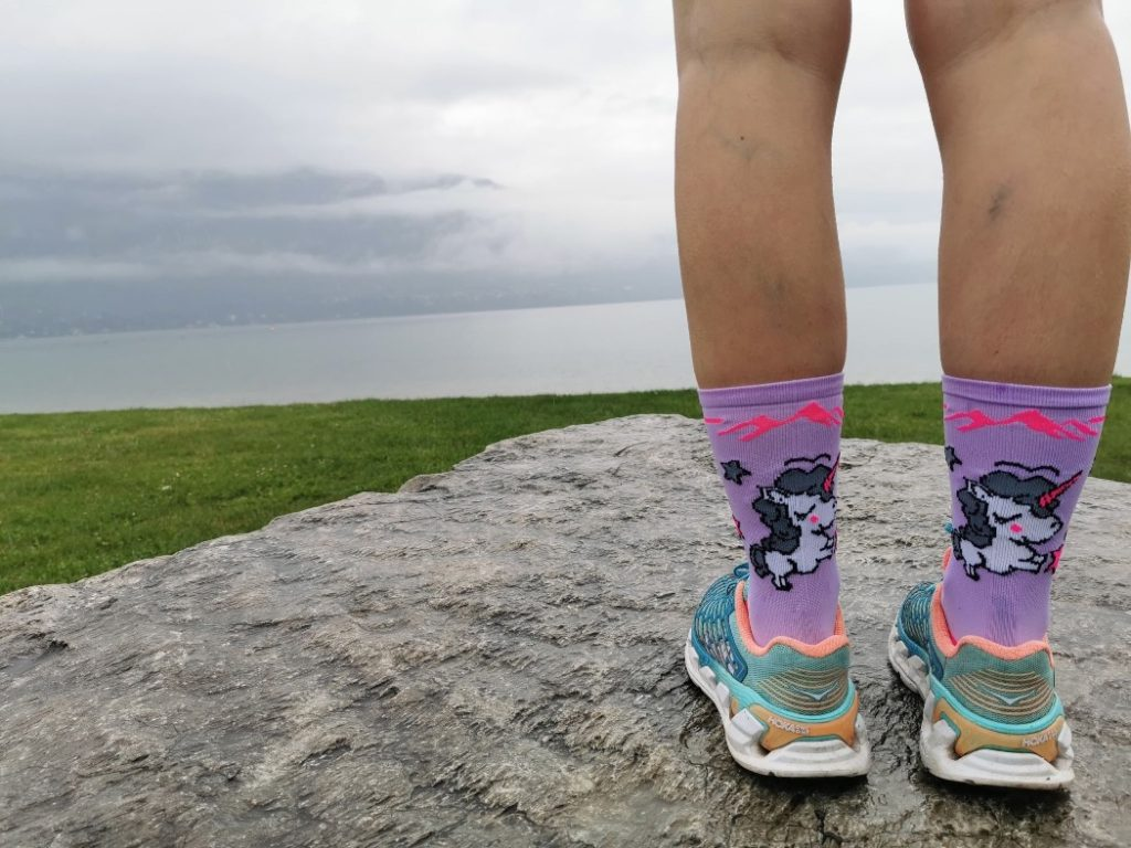 chaussettes pour courir