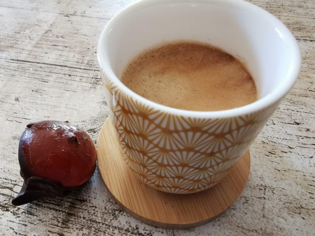 chocolat avec café