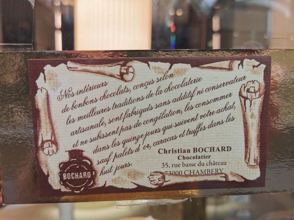 chocolats Père Bochard