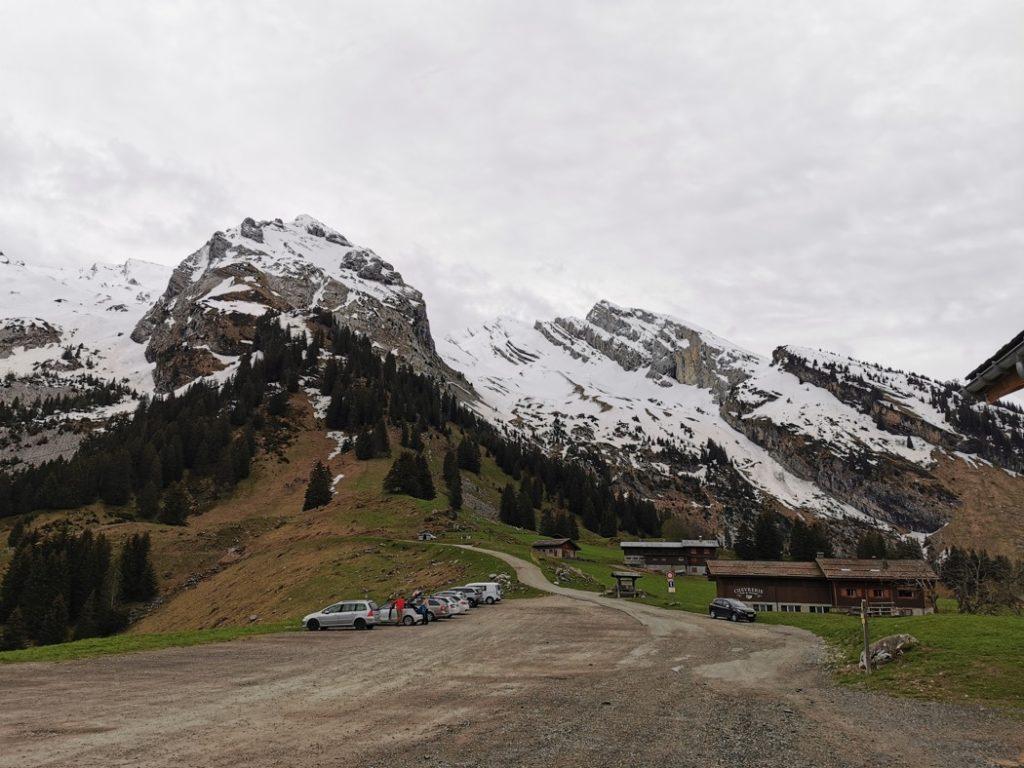parking de l'Arpettaz