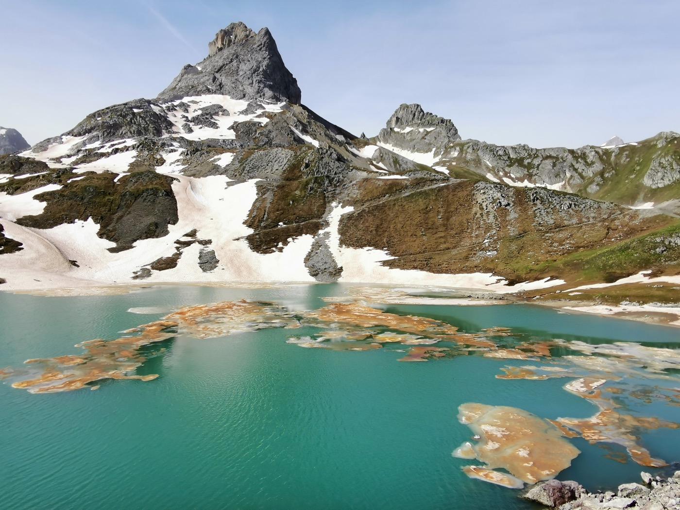 la randonnées des lacs
