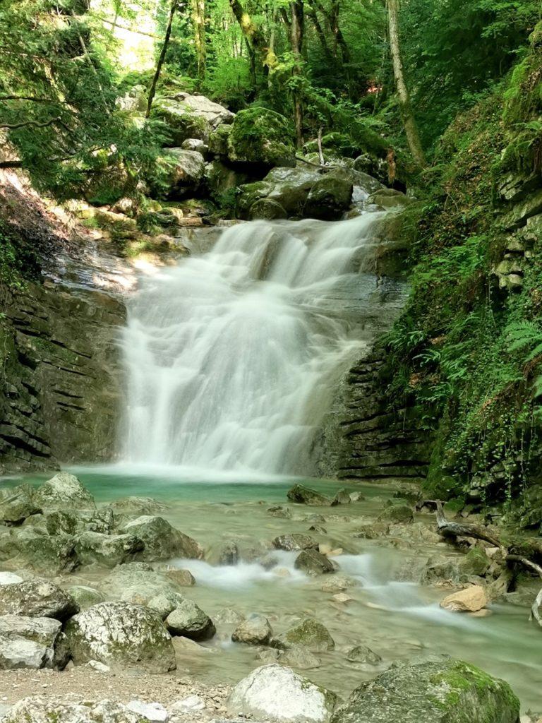 cascade de l'Alloix