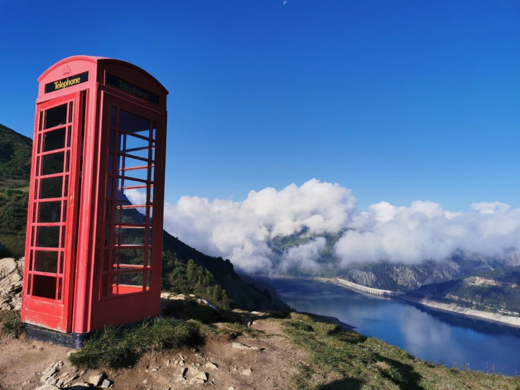 la cabine téléphonique du Beaufortain